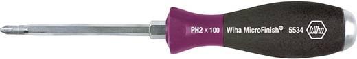 Werkstatt Kreuzschlitz-Schraubendreher Wiha MicroFinish 5534 PH 3 Klingenlänge: 150 mm DIN ISO 8764
