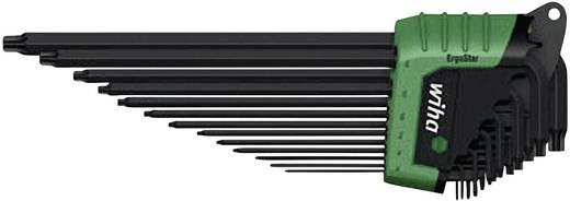 Innen-TORX Winkelschraubendreher-Set 13teilig Wiha TORX MagicSpring ErgoStar 366R HZ13
