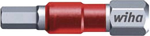 Sechskant-Bit 6 mm Wiha Werkzeugstahl C 6.3 5 St.