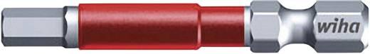 Sechskant-Bit 4 mm Wiha Werkzeugstahl E 6.3 5 St.