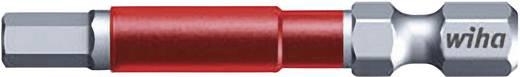 Sechskant-Bit 6 mm Wiha Werkzeugstahl E 6.3 5 St.