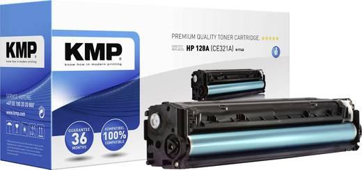 KMP Toner ersetzt HP 128A, CE321A Cyan 1300 Seiten H-T145