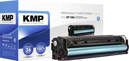 KMP Toner ersetzt HP 128A, CE323A Kompatibel Magenta 1300 Seiten H-T146