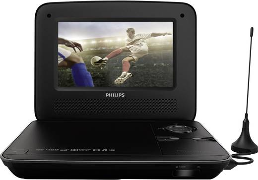 philips pd7015 tragbarer fernseher tragbarer dvd player. Black Bedroom Furniture Sets. Home Design Ideas