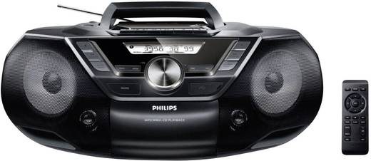 UKW CD-Radio Philips AZ787/12 CD-Soundmaschine Schwarz