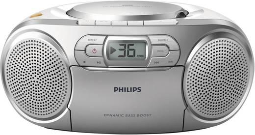 UKW CD-Radio Philips AZ127/12 CD-Soundmaschine Silber