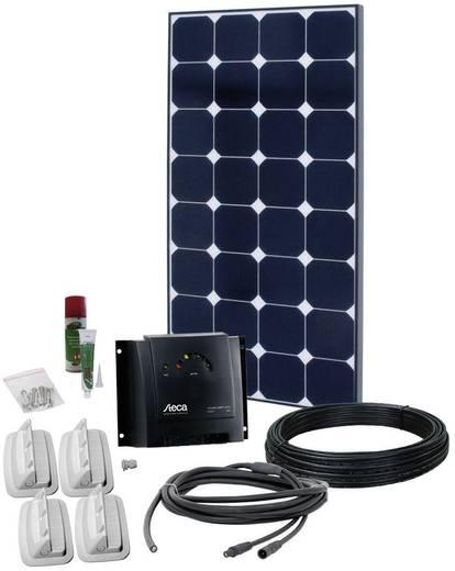 Solar-Set PN-SPR 4 Premium V3 Phaesun 600108 100 Wp inkl. Anschlusskabel, inkl. Laderegler, geeignet für Wohnmobil und B