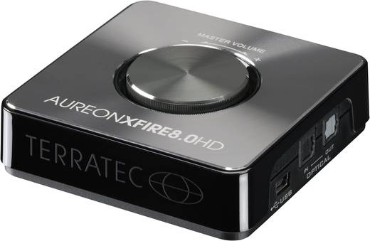 Terratex Aureon XFire 8.0 HD USB Soundsystem
