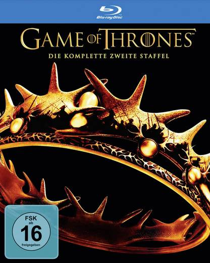 blu-ray Games of Thrones - Die komlette zweite Staffel FSK: 16