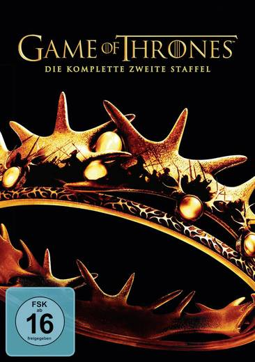DVD Games of Thrones - Die komplette zweite Staffel FSK: 16
