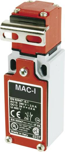 Endschalter 400 V/AC 10 A Metallhebel gebogen tastend Panasonic MA155MT87X11 IP66 1 St.