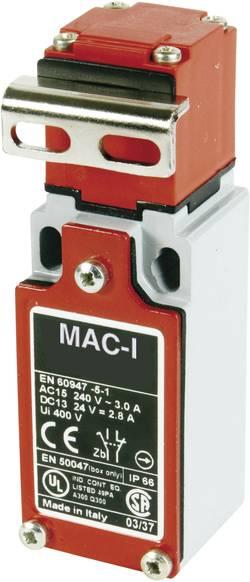 Koncový spínač Panasonic MA155T87Z11, 400 V/AC, 10 A, zahnutá kovová páka