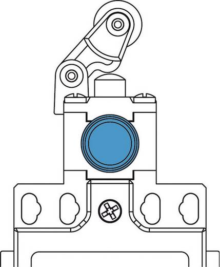 Endschalter 400 V/AC 10 A Rollenschwenkhebel rastend Panasonic MDM5R31Z11 IP66 1 St.