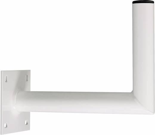 SAT-Wandhalterung A.S. SAT 10725 Wandabstand: 25 cm Passend für Spiegelgröße: Ø bis 90 cm Weiß