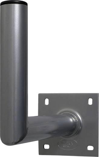 SAT-Wandhalterung A.S. SAT 10135 Wandabstand: 35 cm Passend für Spiegelgröße: Ø bis 90 cm Silber