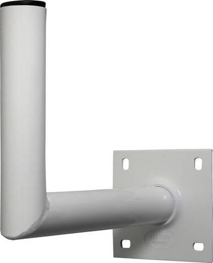SAT-Wandhalterung A.S. SAT 10735 Wandabstand: 25 cm Passend für Spiegelgröße: Ø bis 90 cm Weiß