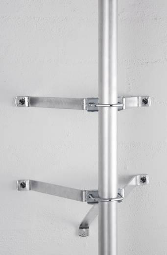 SAT-Wandhalterung A.S. SAT 29031 Wandabstand: 26 cm Silber