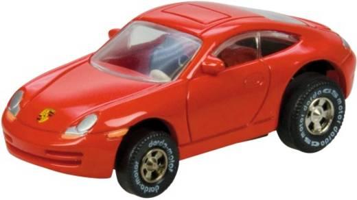 DARDA Aufziehauto Porsche rot