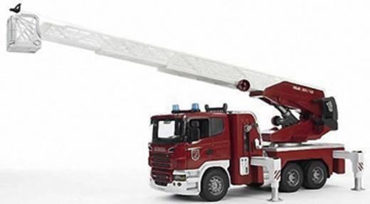 bruder Scania Feuerwehrleiterwagen mit Licht und Sound Modulen