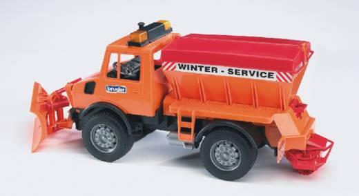 Bruder MB-Unimog Winterdienst mit Räumschild