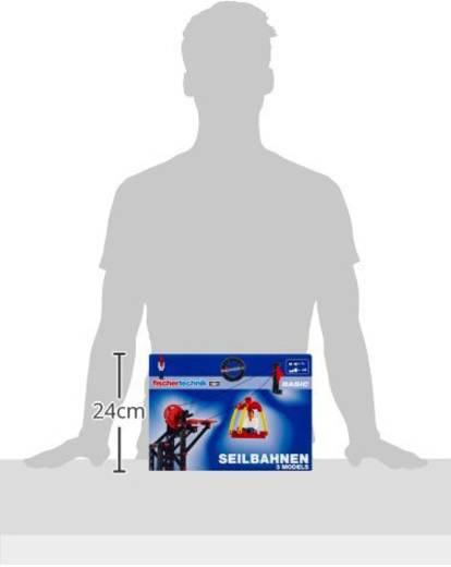 Experimentierkasten fischertechnik Seilbahnen 41859 ab 7 Jahre