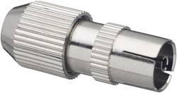 Fiche d'antenne métal femelle Renkforce 0410324 Ø de câble: 5 - 7 mm 1 pc(s)
