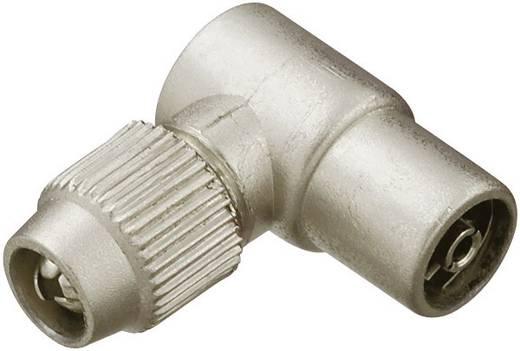 Koax-Winkel-Kupplung Metall Kabel-Durchmesser: 7 mm