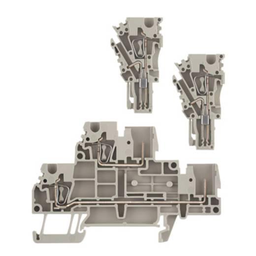 Doppelstock-Reihenklemme ZDT 2.5/2 DU-PE Weidmüller Inhalt: 50 St.