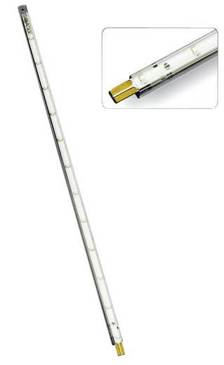 289528 LED-Lichtleiste mit Stecker 12 V 30 cm Grün