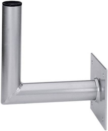 SAT-Wandhalterung A.S. SAT 10125 Wandabstand: 25 cm Passend für Spiegelgröße: Ø bis 90 cm Silber