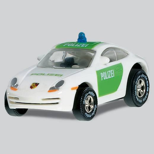 DARDA Aufziehauto Porsche Polizei