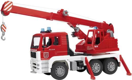 Bruder MAN Feuerwehr Kran-LKW mit Licht und Sound Modul 2770