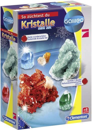 Clementoni Galileo - Kristalle selbst züchten - Mini-Set