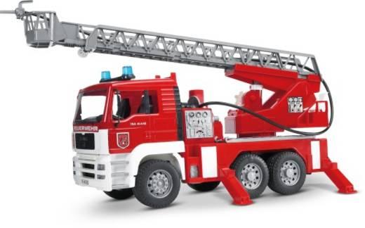 Bruder MAN Feuerwehr mit Drehleiter und Light & Sound Modul 2771