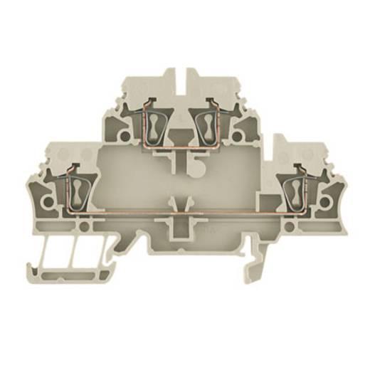 Doppelstock-Reihenklemme ZDK 2.5V BL Weidmüller Inhalt: 50 St.