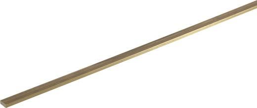 Messing Flach Profil (L x B x H) 500 x 15 x 3 mm 1 St.