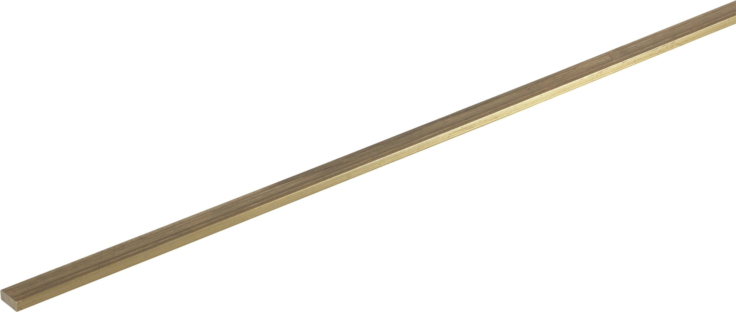 Messing  Flachmaterial Flach 5x2 mm //100mm Lang