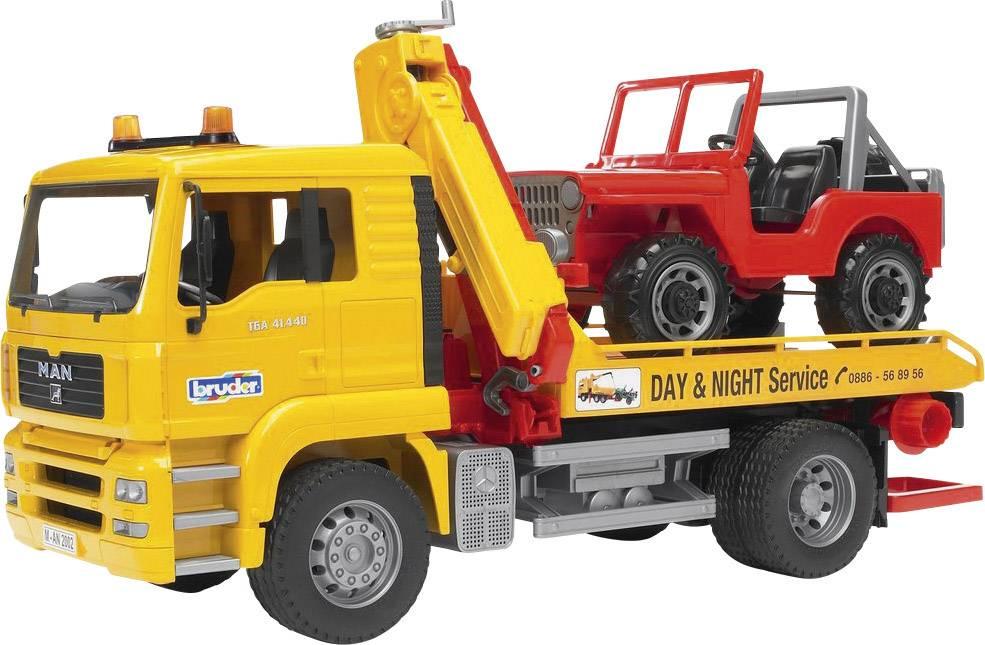 Spielzeugautos & Zubehör Bruder Abschlepp LKW man TGA günstig kaufen