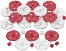 Assortiment de roues dentées Reely 297704 plastique Type de module: 0.5 Nombre de dents: 50, 10 1 set
