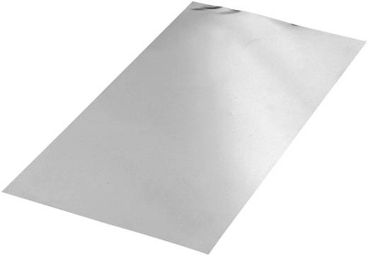Aluminium Platte (L x B) 400 mm x 200 mm 0.6 mm 1 St.