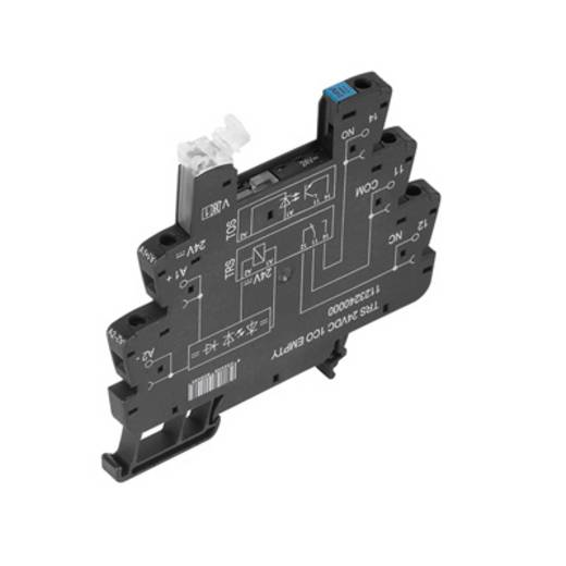 Relaissockel 10 St. Weidmüller TRS 5VDC 1CO EMPTY Passend für Serie: Weidmüller Serie TERMSERIES (B x H x T) 6.4 x 90 x 88 mm