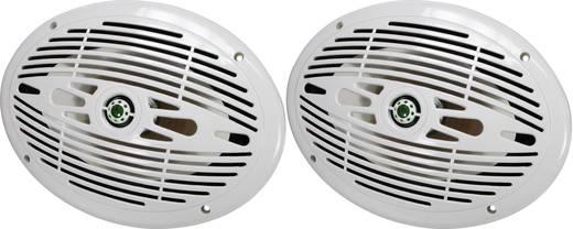 Marine-Lautsprecher SpeaKa Professional 150 W 4 Ω Weiß 1 Paar