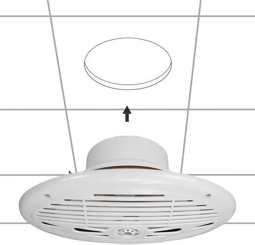 Marine-Lautsprecher SpeaKa ovale nautique étanche blanc 150 W 4 Ω Weiß 1 Paar