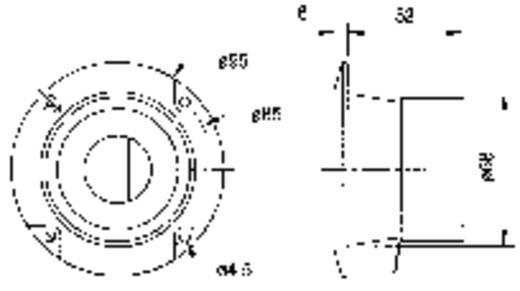 Mono Einbau Lautstärke-Regler Visaton LC-95 100 W