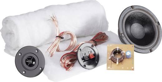 SpeaKa Professional Kit 1 2-Wege Lautsprecher Bausatz inkl. Dämmmaterial, inkl. Frequenzweiche, inkl. Kabel