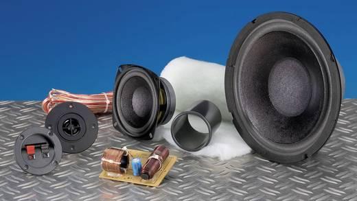 3-Wege Lautsprecher Bausatz SpeaKa Professional Kit 2 inkl. Dämmmaterial, inkl. Frequenzweiche, inkl. Kabel