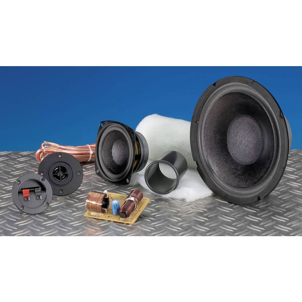 3-Wege Lautsprecher Bausatz SpeaKa Professional Kit 2 inkl ...
