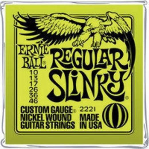 E-Gitarrensaiten Ernie Ball EB2221 Regular Slinky 010-046