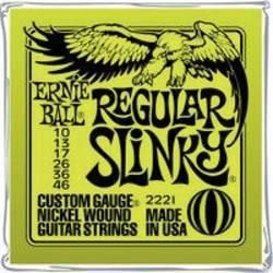 Struny na elektrickou kytaru Ernie Ball Regular Slinky, 010 - 046