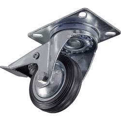 Kolečko s parkovací brzdou Y77420, Ø kola 80 mm, nosnost (max.): 75 kg, 1 ks